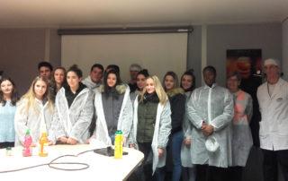 Visite des élèves de BIT1 - des entreprises Martinet traiteur et Teisseire